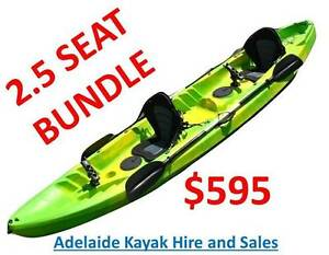 2.5 SEATER FAMILY KAYAK CANOE BUNDLE PICKUP PORT ADELAIDE Port Adelaide Port Adelaide Area Preview