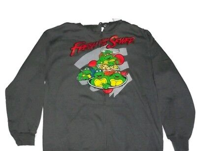 Teenage Mutant Ninja Turtles Zip up hoodie TMNT Sweatshirt NEW - Tmnt Zip Up Hoodie