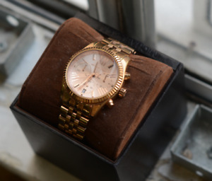 Michael Kors Rose Gold Watch - MINT condition