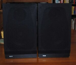 Bowers + Wilkins B+W DM 100 2-way bookshelf standmount speakers