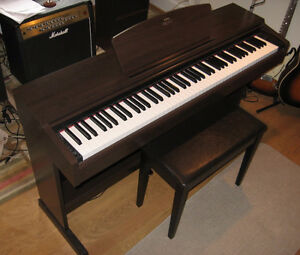 Yamaha Arius Digital Piano with Bench
