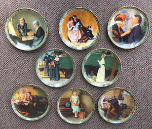 Norman Rockwell Plates-American Dream Series
