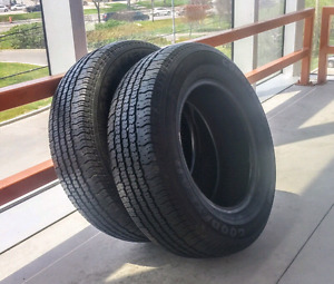 Sets of 195/70/14,215/55/17,215/60/15 all season tires