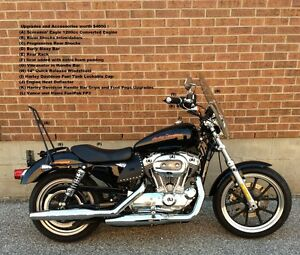 Converted 2014 Harley Davidson XL883L Superlow for sale by owner