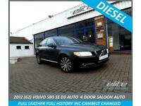 VOLVO S80 D3 136 Geartronic Auto Start-Stop SE Full Leather FULL HISTORY TO INC