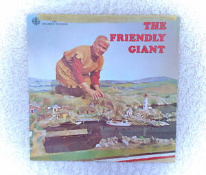 The Friendly Giant Childrens LP Record Bob Homme Rod Coneybeare