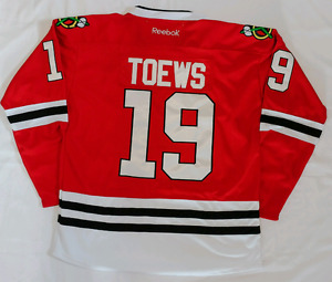# 19 Blackhawks Toews Jersey