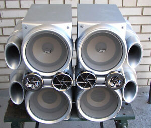 JVC SP-HXD7 Twin Giga-Tube Speakers (open to trades)