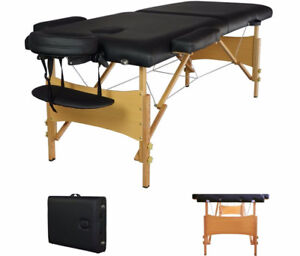 NEW PORTABLE 84 IN MASSAGE TABLE BED PORTABLE MTT2
