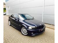 2001 51 reg BMW 330 Ci M Sport Auto Coupe + BLUE with Blue Leather