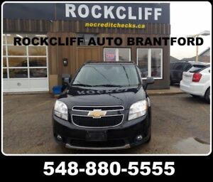 2012 Chevrolet Orlando LTZ. PRICED TO SELL REGARDLESS OF YOUR CR
