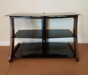 Unit Stand with Shelves