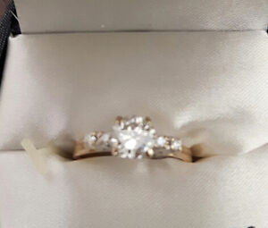 1 carat diamond ring---high quality