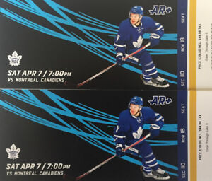 Leafs vs. Habs Side View Aisle Golds
