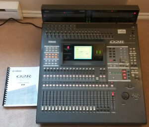 Yamaha 02R v2 Digital Mixing Console with Extras