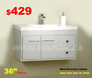 Bathroom Vanities/Shower Doors/Faucets/Toilets/Tub-Sale