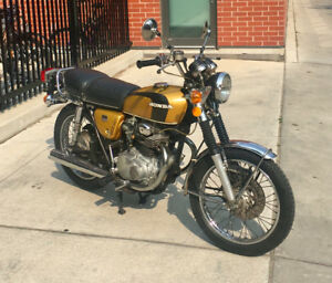 1973 Honda CB350 - with Safety and UVIP