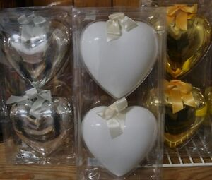 Ornamental Hearts Ikea- Glass  Valentines, Wedding or Christmas Belleville Belleville Area image 1