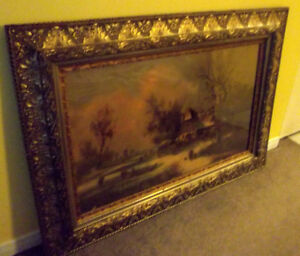 Antique Picture Frame!