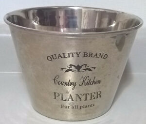 Quality Brand Country Kitchen Stainless Steel Planter