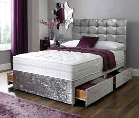 DIVAN BEDS FREE DELIVERY - ALL COLOURS