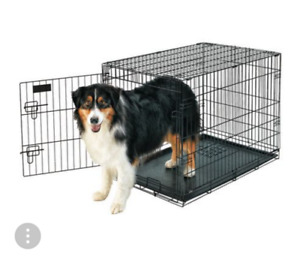 """Petmate Dockocil 36"""" large wire dog kennel $40"""