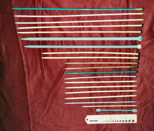 19 Knitting Needles