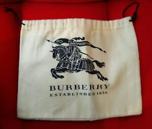 AUTHENTIC BURBERRY SMALL SUNGLASS JEWELLERY DUST BAG TRAVEL