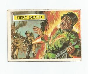 Battle trading cards 1965