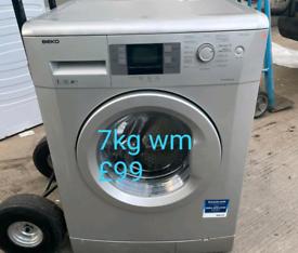 Beko silver 7kg washing machine free delivery in derby