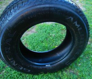 one General Ameritac tire P245/70/R17 used as spare 200K on tire