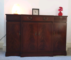 Strongbow Side Board Mahogany