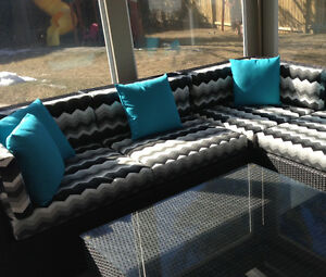 Get your cushions ready for summer now. Patio season