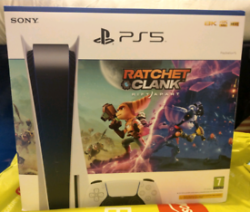 Brand New PS5 Disc version with Ratchet Clank game