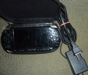 PSP with 9 games, case, charger $ 145, PSP with case $ 65