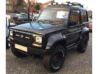 DAIHATSU FOURTRAK 2 DOOR COMMERCIAL WITH BENCH SEATS 2002
