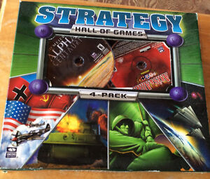 2001 STRATEGY HALL OF GAMES 4-PACK. STRATEGY ACTION X 4 Gatineau Ottawa / Gatineau Area image 1