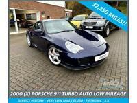 PORSCHE 911 996 TURBO Tiptronic Blue Semi-Auto Petrol, 2000