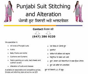 Punjabi Suit Stitching