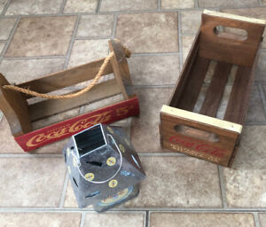 Coca Cola Crates and Tea Light Candle Holder