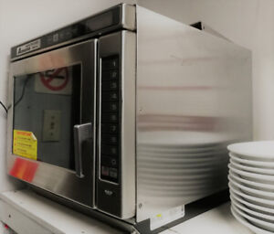 Stainless Steel Restaurant Microwave : Amana RC27S