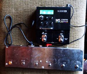 Line 6 M5 + MIDI Footswitch
