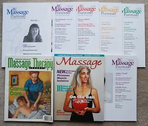 8 FREE Massage Therapy Magazines Journals RMT