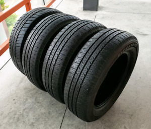 Set of four 185/65/15 all season tires. 7/32nd tread .
