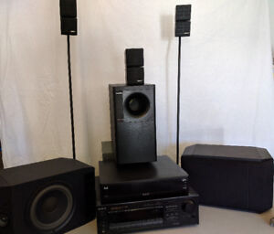 BOSE/SONY Home Theatre - Surround Sound System
