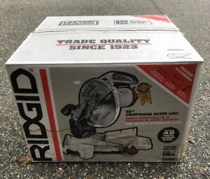 Corded 10 inch Compound Mitre Saw