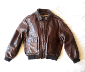 HARRY BROWN LEATHER JACKET SIZE M