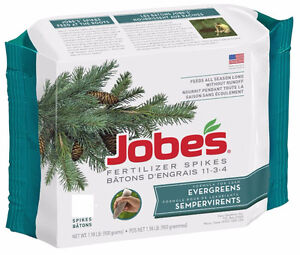 Jobes 8 Count Evergreen Trees and Shrubs Fertilizer Spikes West Island Greater Montréal image 1