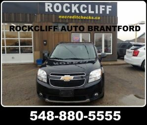2012 Chevrolet Orlando LTZ. PRICED TO SELL REGARDLESS OF YOUR CREDIT SITU