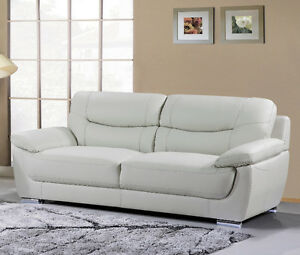 BRYCE GENUINE LEATHER SOFA $1199 -TAX IN- FREE LOCAL DELIVERY